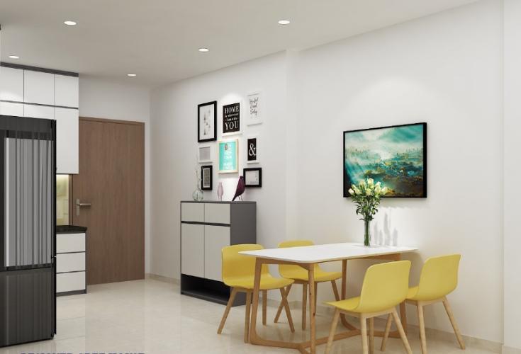 Bán căn hộ Lavida Plus Q7 tầng cao view đẹp, diện tích 65m2, kết cấu 2 phòng ngủ, không nội thất.
