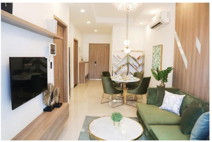 Căn hộ Lavita Charm tầng 19 thiết kế kỹ lưỡng, nội thất đầy đủ.