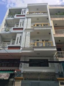Nhà phố kết cấu 4 tầng diện tích 64m2, khu vực đầy đủ các tiện ích.