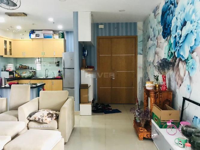 Căn hộ tầng 20 Him Lam Chợ Lớn đầy đủ nội thất, view thành phố sầm uất.