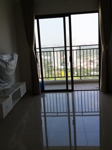 Căn Officetel tầng 9 The Sun Avenue thiết kế hiện đại, nội thất cơ bản.