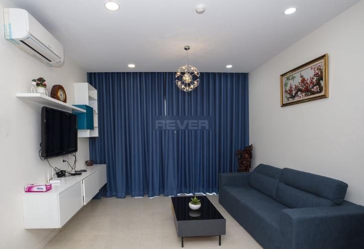 Căn hộ tầng cao Masteri Millennium hướng Tây Nam, đầy đủ nội thất.