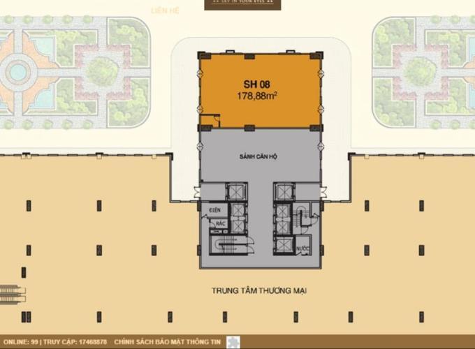 layout sài gòn mia Cho thuê Shophouse Saigon Mia quận Bình Chánh, diện tích 178.88m2