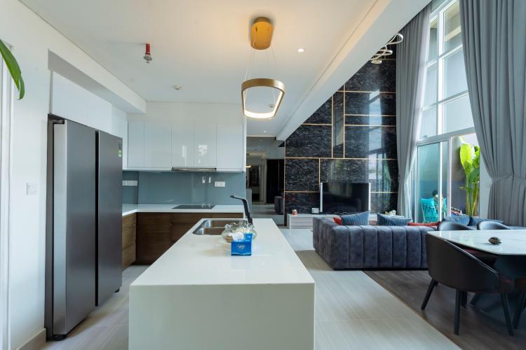 Phòng bếp Vista Verde Quận 2 Căn hộ Vista Verde tầng cao, view thành phố.