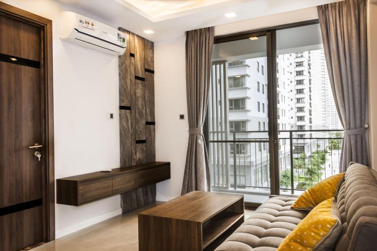 Bán căn hộ Saigon South Residence tầng thấp, 2 phòng ngủ, diện tích 65m2, đầy đủ nội thất.
