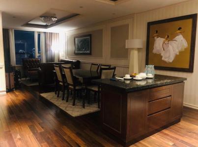 Cho thuê căn hộ Léman Luxury Apartment tầng thấp, 1 phòng ngủ, diện tích 50m2, đầy đủ nội thất