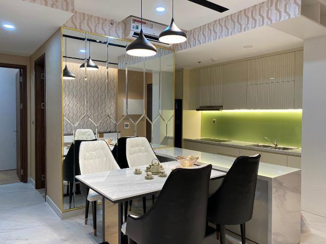 Phòng ăn Phú Mỹ Hưng Midtown Căn hộ Phú Mỹ Hưng Midtown tầng trung, view nội khu yên tĩnh.