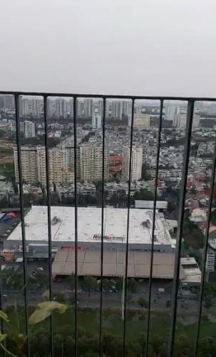 View căn hộ Masteri Thảo Điền , Quận 2 Căn hộ tầng cao Masteri Thảo Điền view thành phố, nội thất cơ bản.
