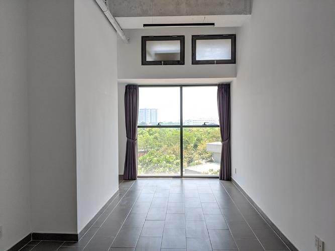 Căn Officetel tầng thấp The Sun Avenue view nội khu vô cùng yên tĩnh.