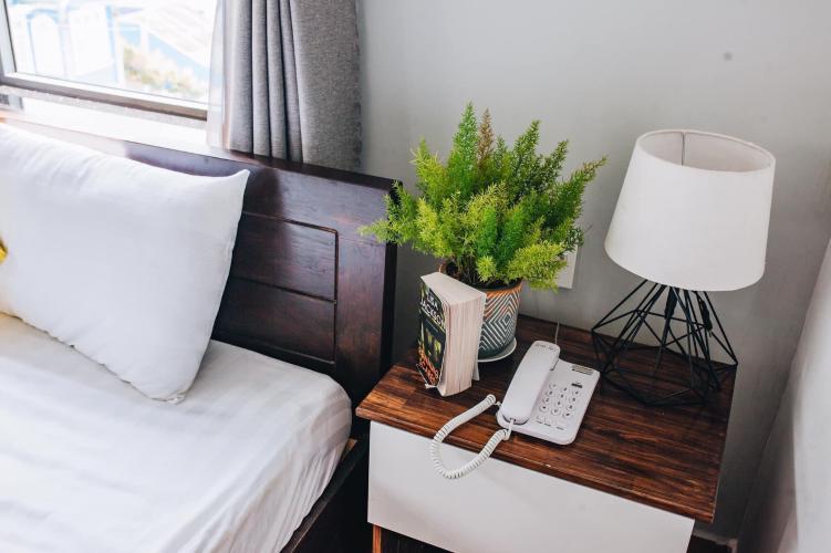 Phòng ngủ căn hộ dịch vụ Quận 10 Cho thuê căn hộ dịch vụ đường Ba tháng Hai, Quận 10, cách Nhà hát Hòa Bình 200m