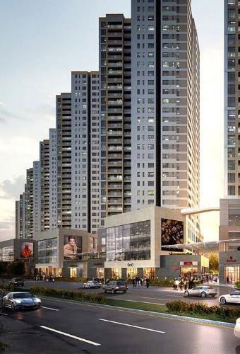 Dự án The Sun Avenue Shop-house thô hướng Đông Nam The Sun Avenue, diện tích 4mx12m.