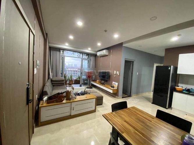 Căn hộ Luxcity tầng 6 đầy đủ nội thất, cửa hướng Nam.