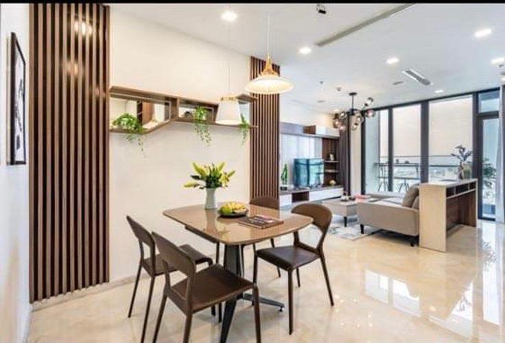 Căn hộ Vinhomes Golden River 2PN tầng trung đầy đủ nội thất