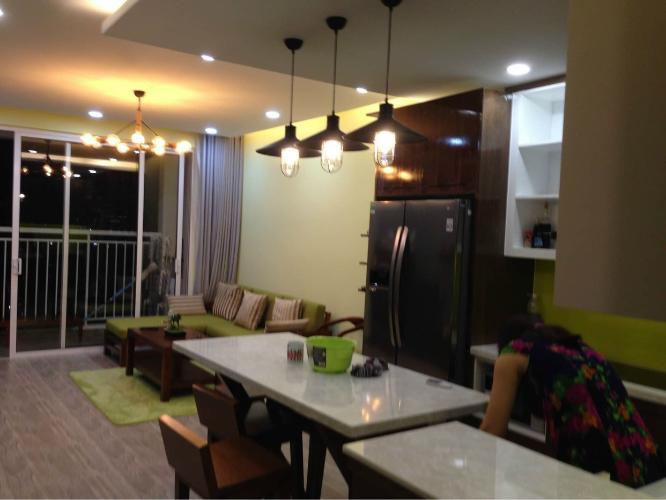 Phòng khách Tropic Garden, quận 2 Căn hộ Tropic Garden hướng Đông Nam, view thoáng mát.
