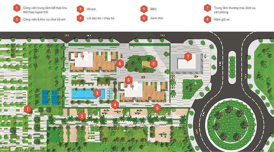 Căn hộ Citi Esto, Quận 2 Căn hộ tầng 9 Citi Esto ban công rộng rãi thoáng mát, nội thất cơ bản.