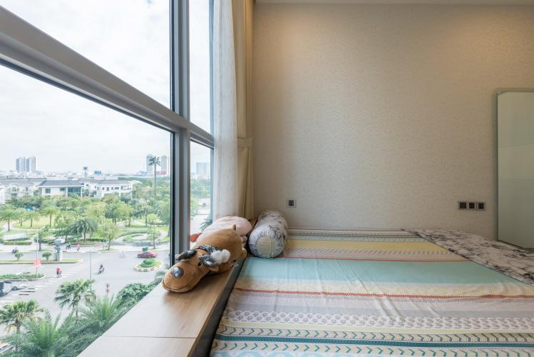 Phòng ngủ Vinhomes Central Park Căn hộ Vinhomes Central Park hướng Bắc, view Landmark 81.