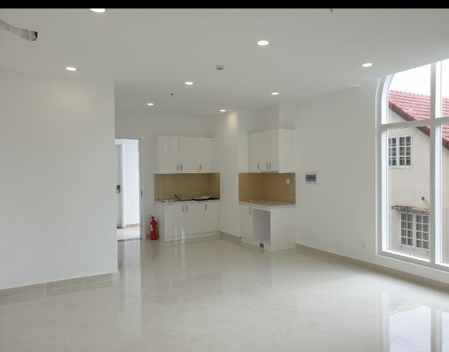 phòng bếp căn hộ sài gòn mia Căn hộ tầng cao Saigon Mia, thiết kế tinh tế, nhiều cửa đón sáng.