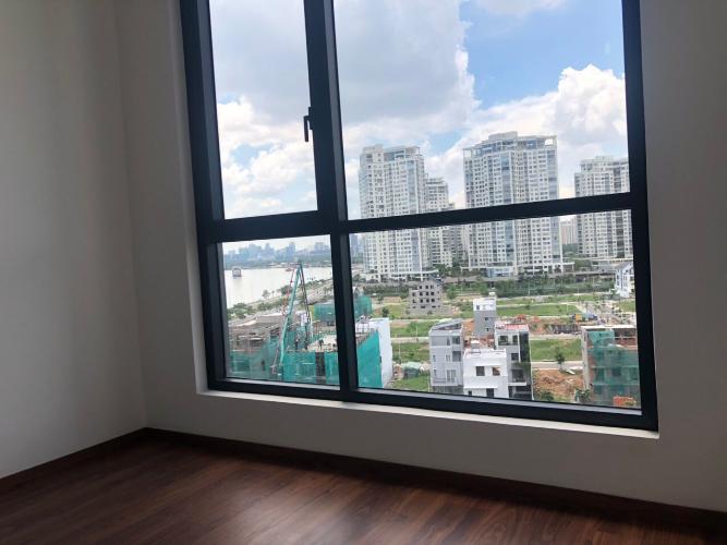View phòng ngủ căn hộ One Verandah Căn hộ One Verandah nội thất cơ bản, view thành phố sầm uất.