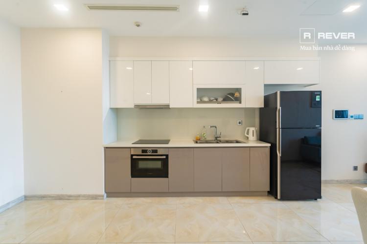 Phòng bếp căn hộ VINHOMES GOLDEN RIVER Cho thuê căn hộ Vinhomes Golden River 1PN, tầng 19, đầy đủ nội thất