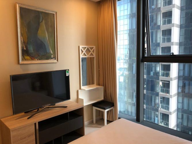 Phòng Khách Căn Hộ Vinhomes Golden River Căn hộ tầng 08 tháp The Luxury 6 Vinhomes Golden River đầy đủ nội thất