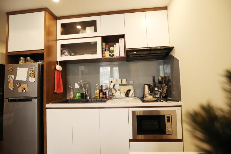 Phòng bếp căn hộ dịch vụ Quận 1 Căn hộ Dịch vụ cao cấp hướng Đông Bắc, view thành phố tuyệt đẹp.