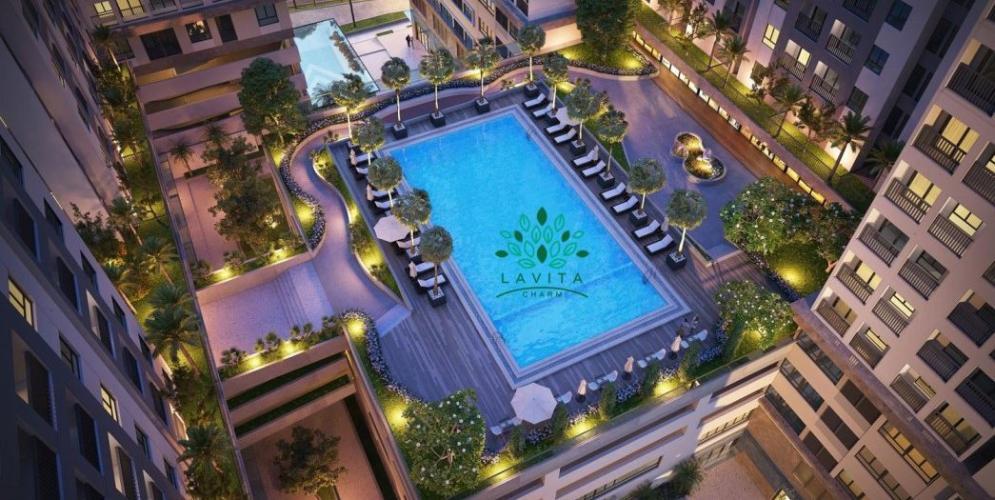 Tiện ích căn hộ Lavita Charm, Thủ Đức Căn hộ Lavita Charm tầng 6, đầy đủ nội thất cao cấp và tiện ích.