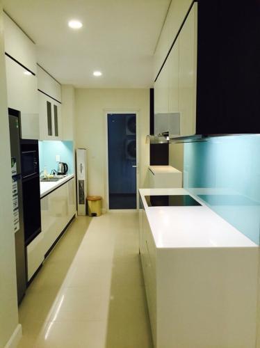 Phòng bếp căn hộ Lexington Residence, Quận 2 Căn hộ Lexington Residence hướng Tây Bắc thoáng mát, đầy đủ nội thất.