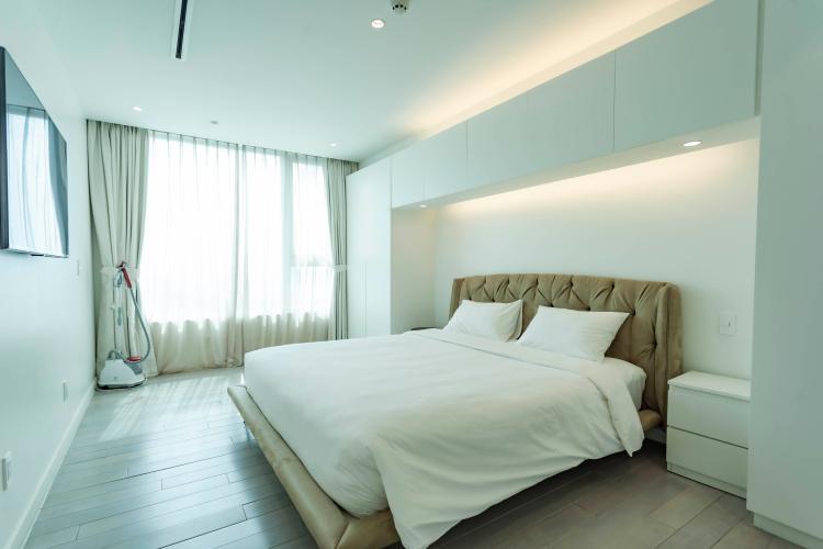 Phòng ngủ , Căn hộ Léman Luxury Apartment , Quận 3 Căn hộ tầng 8 Léman Luxury Apartments hướng Tây Bắc, đầy đủ nội thất.