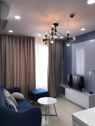 Căn hộ Masteri Thảo Điền diện tích 64m2 có 2 phòng ngủ, đầy đủ nội thất.