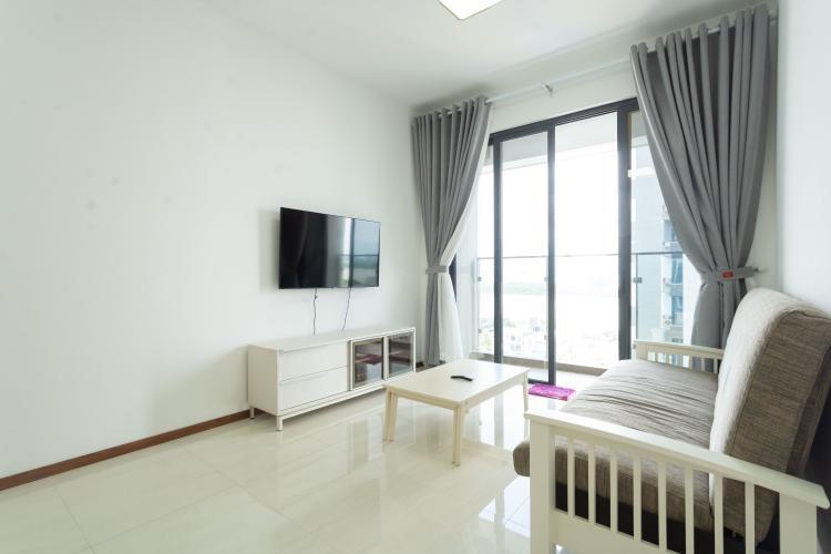 Căn hộ One Verandah tầng trung, nội thất hoàn thiện.