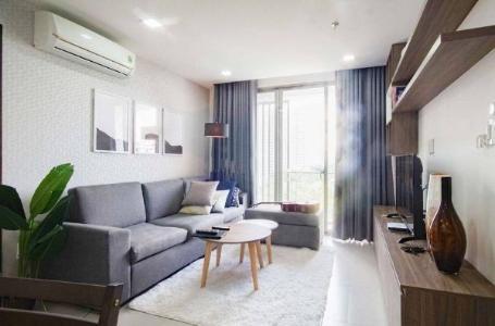 Căn hộ Happy Residence đầy đủ nội thất tiện nghi, view thành phố.