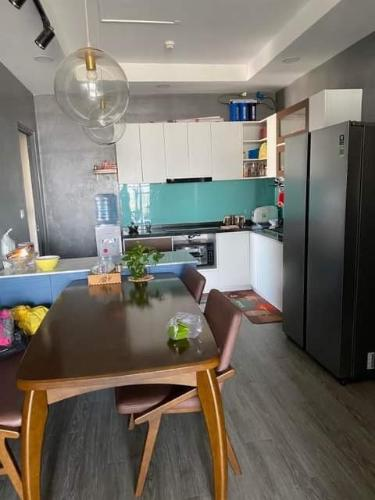 Phòng bếp căn hộ The Pegasuite 2, Quận 8 Căn hộ tầng 21 The Pegasuite 2 hướng Tây Bắc, nội thất cơ bản.