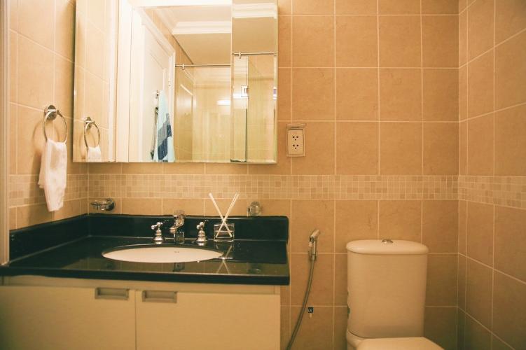 Toilet The Manor Quận Bình Thạnh Căn hộ The Manor tầng thấp, đầy đủ nội thất
