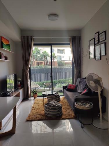 Căn hộ Masteri An Phú tầng 3A, view sân vườn mát mẻ và yên tĩnh.