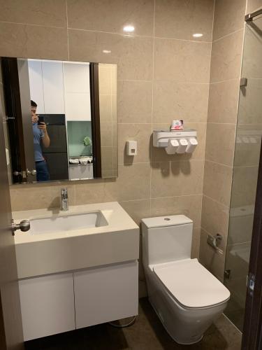 Phòng tắm Office-tel The Tresor  Căn hộ Officetel The Tresor tầng thấp, bàn giao nội thất cơ bản.