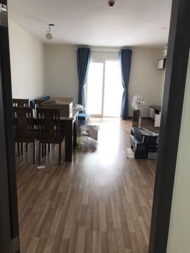 Căn hộ chung cư Diamond Riverside nội thất đầy đủ, view nội khu.