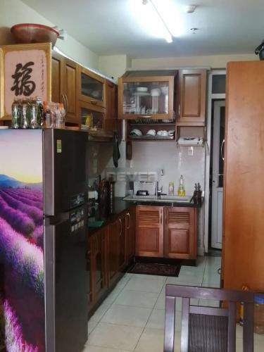 Phòng bếp căn hộ Riverside 90, Bình Thạnh Căn hộ tầng 10 Riverside 90 hướng Nam thoáng mát, đầy đủ nội thất.