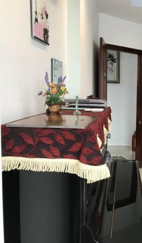 Nội thất nhà phố Quận Tân Bình Nhà phố Q.Tân Bình diện tích 55.3m2, bàn giao kèm nội thất cơ bản.