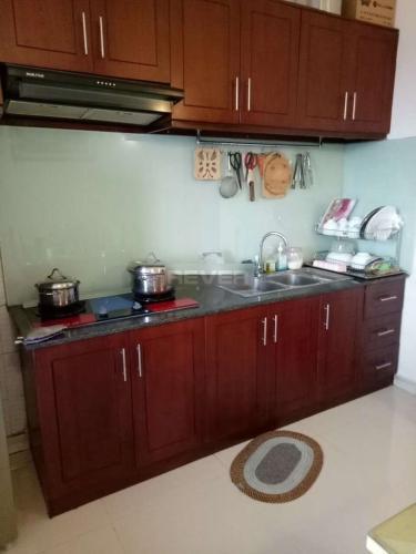 Phòng bếp Phú Thạnh Apartment, Tân Phú Căn hộ Phú Thạnh Apartment tầng trung, ban công hướng Bắc.