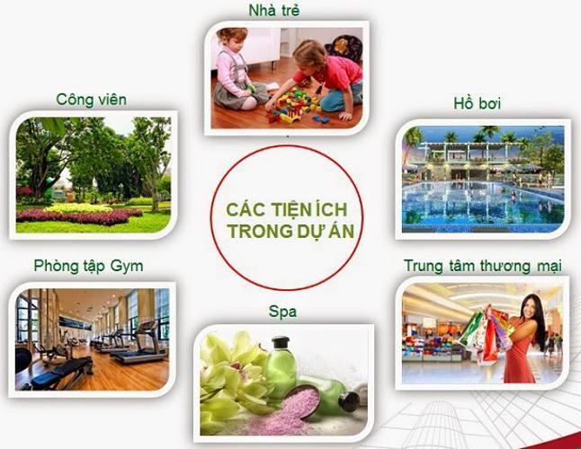 Tiện ích căn hộ City Gate Căn hộ City Gate 2 phòng ngủ view nội khu hồ bơi thoáng mát.