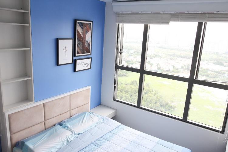 phòng ngủ căn hộ The Sun Avenue Căn hộ 3 phòng ngủ The Sun Avenue view đảo Kim Cương siêu đẹp