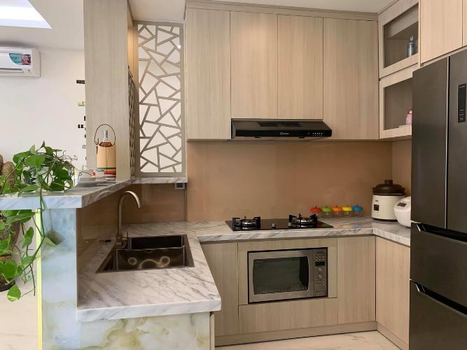 Bếp Phú Mỹ Hưng Midtown Căn hộ Phú Mỹ Hưng Midtown nội thất sang trọng, view nội khu.