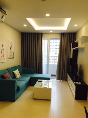 Phòng khách căn hộ Lexington Residence, Quận 2 Căn hộ Lexington Residence hướng Tây Bắc thoáng mát, đầy đủ nội thất.
