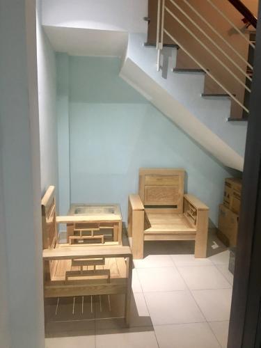 4306919853b0adeef4a1 Nhà hẻm Nguyễn Đình Chiểu, diện tích 3x9m, nội thất cơ bản.