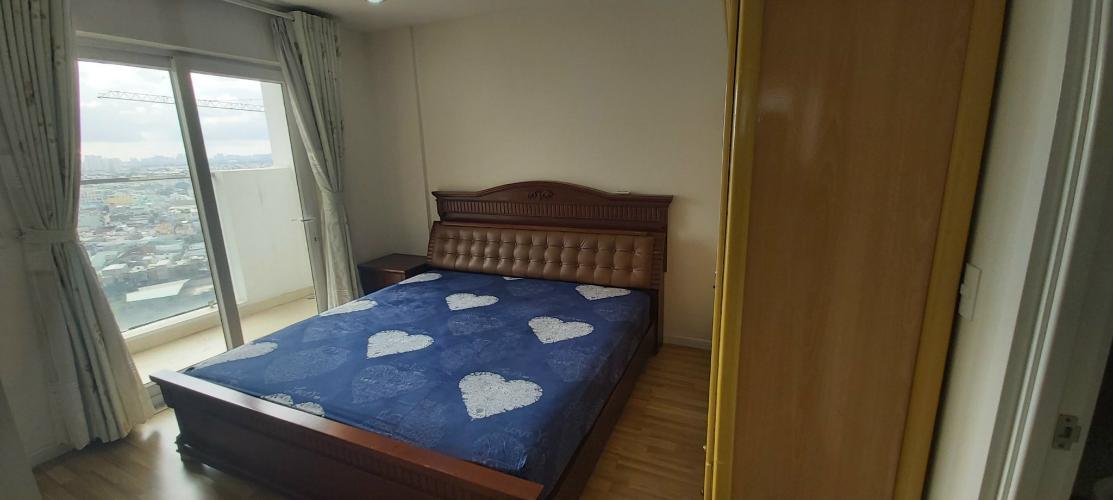 phòng ngủ căn hộ city gate Căn hộ tầng trung City Gate view đại lộ, đầy đủ nội thất.