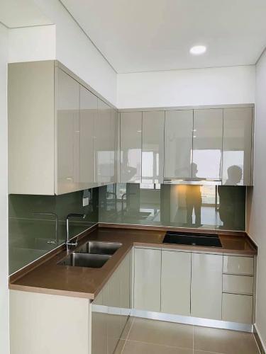 Phòng bếp căn hộ River Panorama, Quận 7 Căn hộ River Panorama nội thất cơ bản, view tầng cao đón gió mát.
