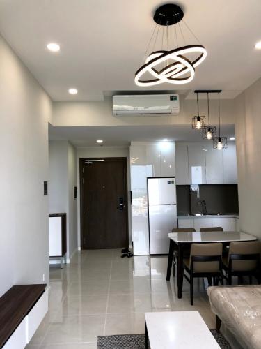 phòng khách căn hộ Masteri An Phú Căn hộ Masteri An Phú tầng cao đầy đủ nội thất, view thành phố.