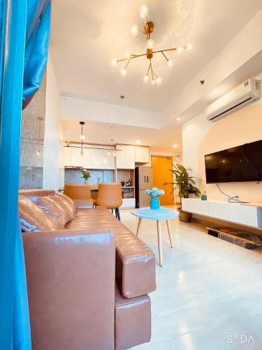 Căn hộ Masteri Thảo Điền tầng 21 nội thất đầy đủ, view xa lộ Hà Nội