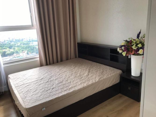 Phòng ngủ Galaxy 9, Quận 4 Căn hộ Galaxy 9 tầng cao, view thành phố.