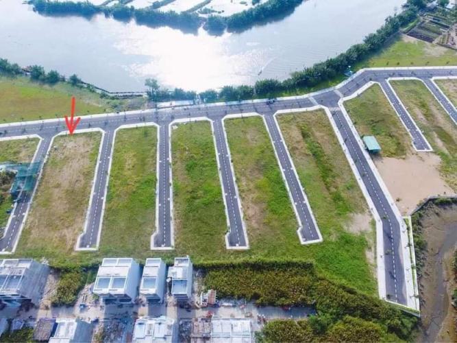 Đất nền tại KDC Gia Long Riverside diện tích 80.6m2, sổ hồng riêng.